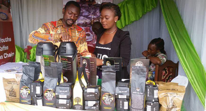 Cofee Cameroon Woman